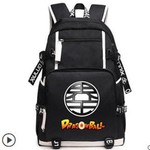 Load image into Gallery viewer, Anime Dragon Ball Z USB Charging Backpack*