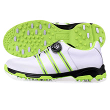 Load image into Gallery viewer, Mens PGM Genuine Leather Waterproof Pro Tour Golf Shoes