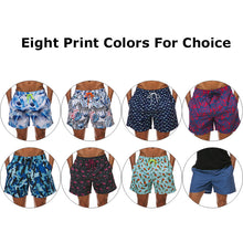Load image into Gallery viewer, MENS QUICK DRY PATTERN PRINT BOARD SHORTS