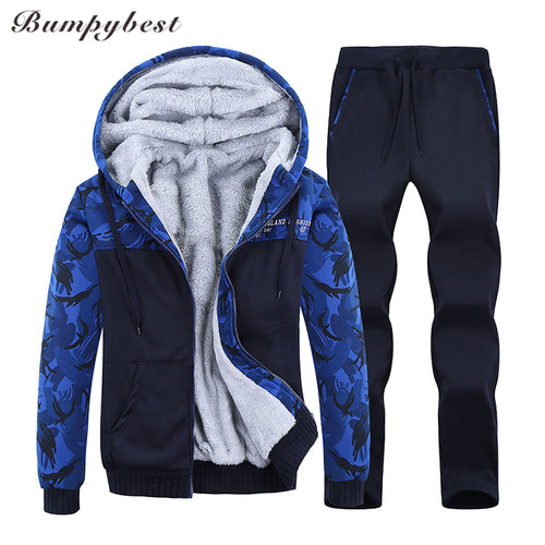 MENS SLIM FIT PATCHWORK RUNNING SUIT