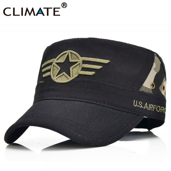 CLIMATE Brand 5-Point Star US AIR FORCE Military Hat