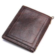 Load image into Gallery viewer, Leather Wallet W/Card Holder & Coin Pocket