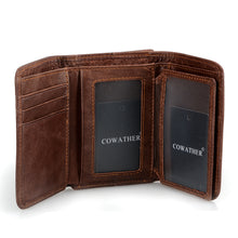 Load image into Gallery viewer, Leather vintage wallet