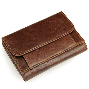 Leather vintage wallet