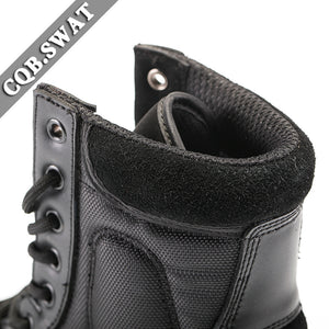 Mens Tactical Ankle Strap Military Combat Boots