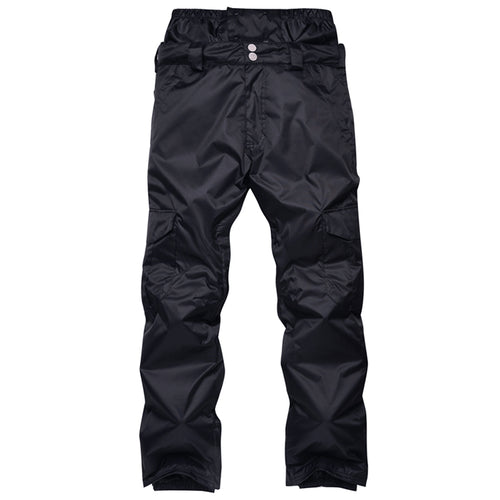 Mens High Waist Waterproof Thermal Trousers
