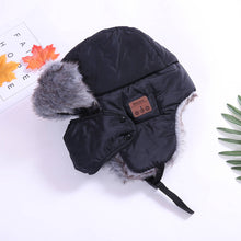 Load image into Gallery viewer, Wireless Bluetooth Fur Ear Smart Bomber Cap