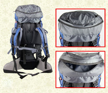 Load image into Gallery viewer, 65L Waterproof Climbing, Camping, Hiking & Mountaineering Pack w/ Bladder Bag