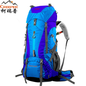 60L Pro Waterproof Climbing, Camping, & Hiking Backpack