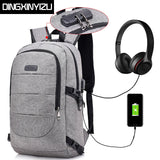 Anti-Theft Multifunctional USB Charging Backpack