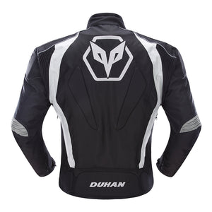Wind And Coldproof Moto Racing Jacket w/Protective Guards