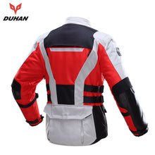 Load image into Gallery viewer, DUHAN Waterproof Motorcycle Racing Suit w/Body Protectors