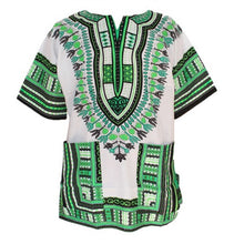 Load image into Gallery viewer, Mens African Print Traditional Dashiki Shirt
