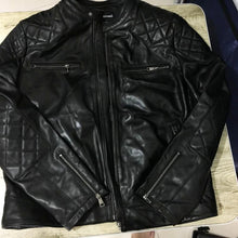 Load image into Gallery viewer, Men's Genuine Leather Jacket*