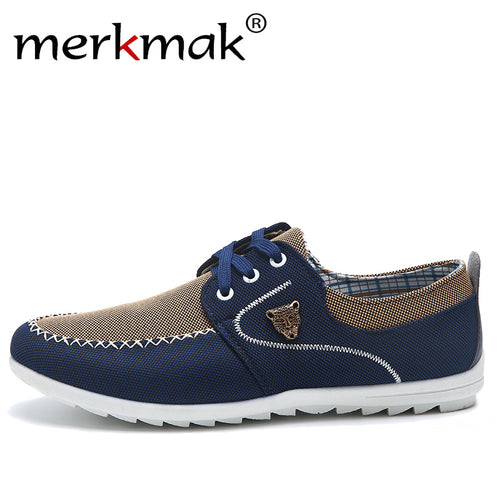 Men's Casual Comfortable Soft Canvas Loafers