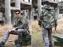 Load image into Gallery viewer, Waterproof Softshell Tactical Camouflage Hunting Jackets +Military Pants Suits
