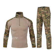 Load image into Gallery viewer, Mens Long Sleeve Camouflage Military/Hunting Tactical Suit