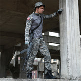 Mens Long Sleeve Camouflage Military/Hunting Tactical Suit