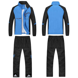 Men's Set- Spring and Autumn Mens Sportswear- 2 Piece Sporting Suit