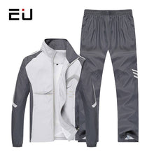 Load image into Gallery viewer, Men's Set- Spring and Autumn Mens Sportswear- 2 Piece Sporting Suit