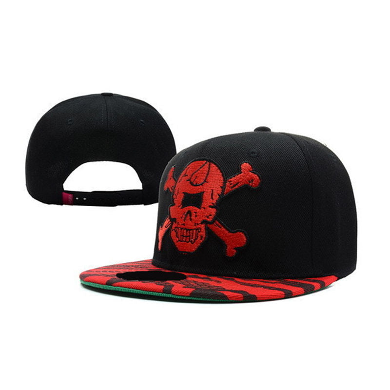 YETH Brand Embroidered Skull Print Baseball Hat*