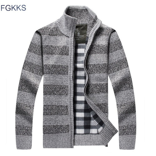 FGGKS Solid Color Winter Slim Fit Sweatercoat* (M-3XL)