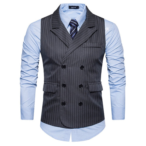 FGGKS Slim Fit Herringbone Business Waistcoat* (S-2XL)