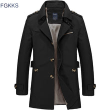 Load image into Gallery viewer, Long Section Spring Trench Coat* (M-5XL)
