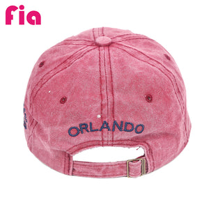 Unisex Spring Cotton Multi-Color Baseball Cap