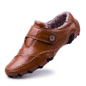 British Style Genuine Leather Loafers