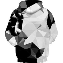 Load image into Gallery viewer, Mens Hooded Block Pattern 3D Print Hoodie