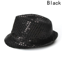 Load image into Gallery viewer, Fashionable LED Sequined Jazz And Party Fedora