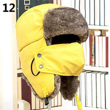 Load image into Gallery viewer, Mens Warm Trapper Ear Ushanka Bomber Hat