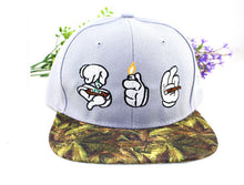 Load image into Gallery viewer, Mens Hip-Hop Style Hand Print Baseball Cap