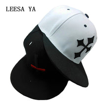 Load image into Gallery viewer, Mens Large Cross Print Snapback Baseball Cap