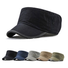 Load image into Gallery viewer, GEMAY G.M. Brand Classic Adjustable Flat Top Military Hat