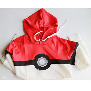Men Hooded Pokemon Poke Ball 3D Print Hoodie