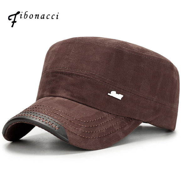 FIBONACCI Classic Adjustable Cotton Military Hat