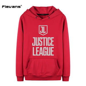 Casual Hooded Justice League Pullover