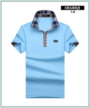 Load image into Gallery viewer, Mens Short Sleeve Solid Color Polo