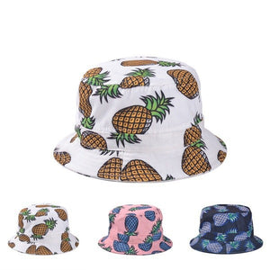 VORON Pineapple Print Bucket Hat