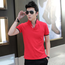Load image into Gallery viewer, Mens Solid Color Short Sleeve Casual Trend Tee's