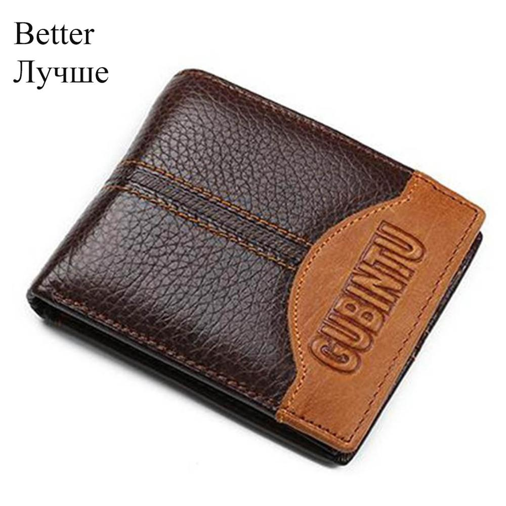 Genuine Leather Wallet-  Men's Leather Wallet