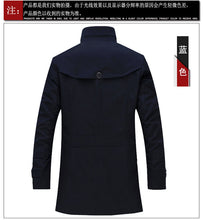 Load image into Gallery viewer, Single-Breasted Casual Canvas Business Trench Coat* (M-4XL)