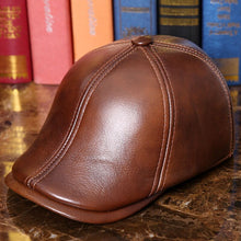 Load image into Gallery viewer, Genuine Leather Cashmere Lined Russian Style Duckbill*