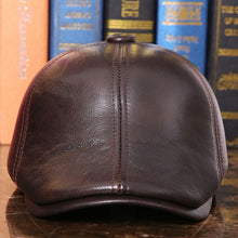 Load image into Gallery viewer, Genuine Leather Cashmere Lined Russian Style Duckbill* (55cm-60cm)