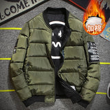 Mens Vintage Bomber Type Jacket w/Patches