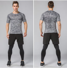Load image into Gallery viewer, Mens 3-Piece Compression Training Suit