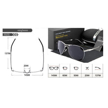 Load image into Gallery viewer, Mens Polarized UV400 Mirrored Pilot Goggles