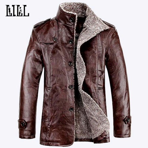 Men's Motorcycle Leather Jacket*